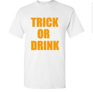 Trick or Drink Funny Halloween Tshirt
